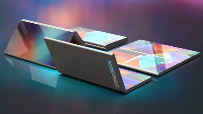 The Galaxy X foldable phone could be trumped by this crazy LG gadget