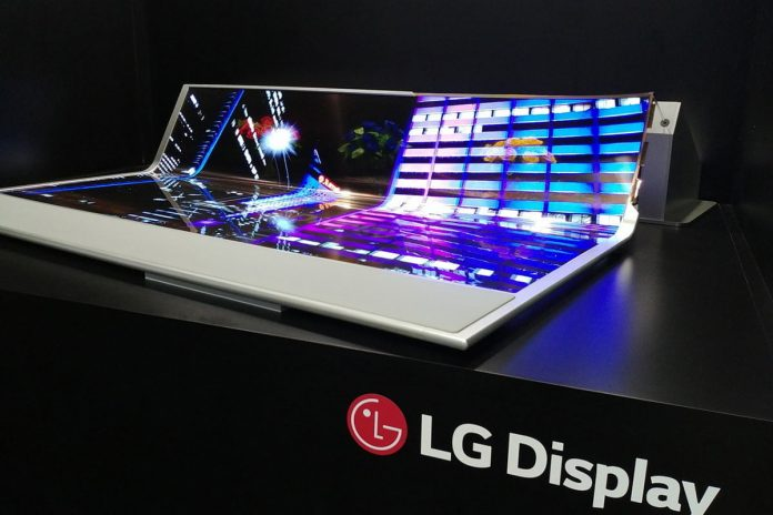LG receives a patent for a rollable smartphone.