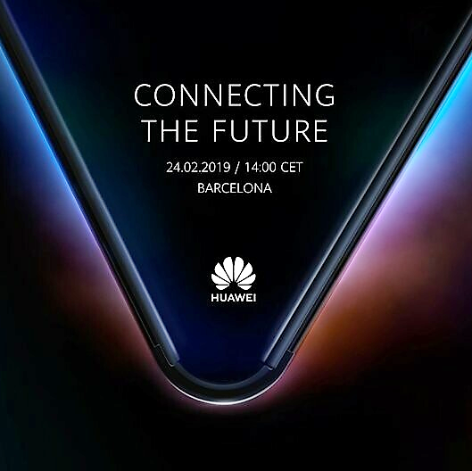 Huawei foldable phone Barcelona MWC 2019
