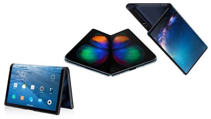 Foldable Phones at Mobile World Congress