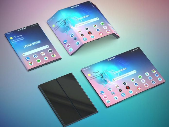 Is This Your First Look At Samsung's Folding Galaxy Note 10?