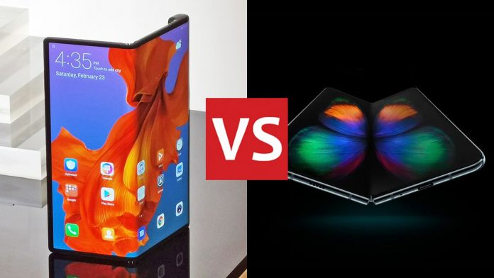 Huawei Mate X vs Samsung Galaxy Fold: the best folding phones, head to head