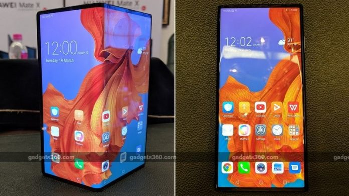 Huawei has confirmed that the foldable smartphone will be launched later this year.