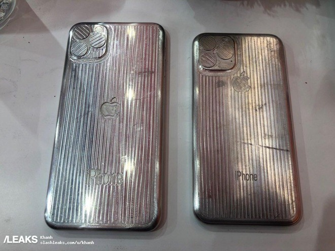 'iPhone XI' and 'iPhone XI Max' case manufacturing dummies pop up on Chinese social media