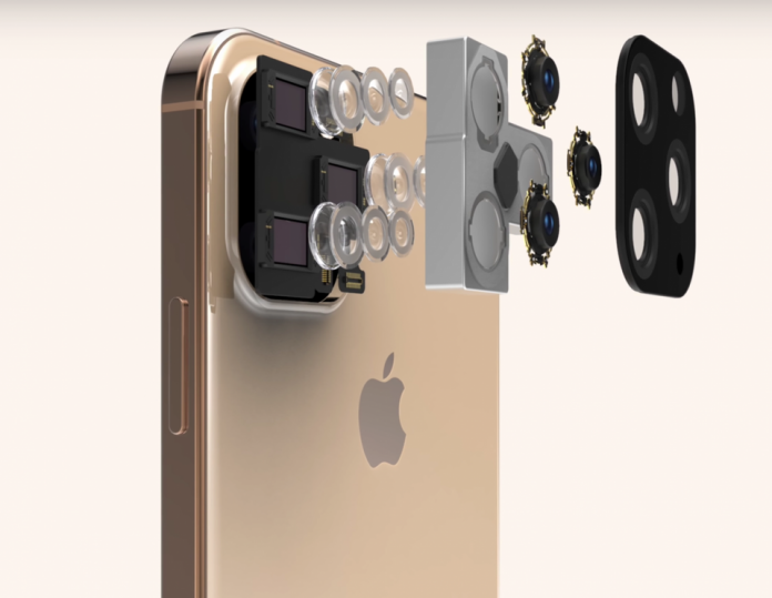 iPhone 11 render showing the massive new triple rear camera, based on multiple leaks EVERYTHINGAPPLEPRO