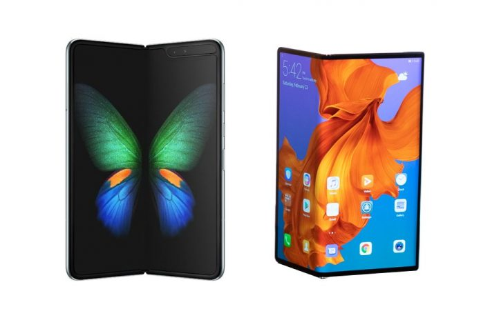 Samsung Galaxy Fold Foldable Phone / Huawei Mate X Foldable Phone