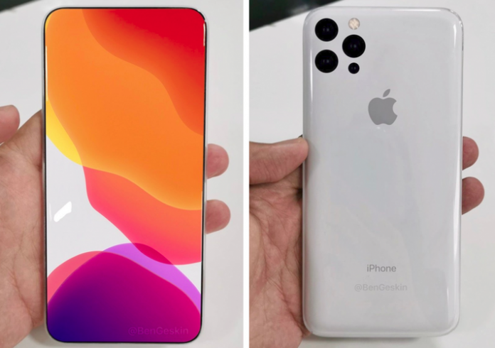 2020 iPhone makes the iPhone 11 look like a skippable update – concept pictured BEN GESKIN