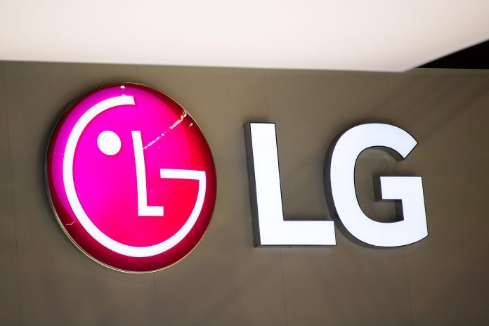 LG will reveal a triple-screen smartphone next month. (Pictured: A logo sits illuminated outside the LG booth on day 2 of the GSMA Mobile World Congress 2019 on February 26, 2019 in Barcelona, Spain.) Photo: Getty Images/David Ramos