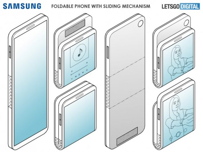 Samsung patent suggests vertically folding phone is on the way