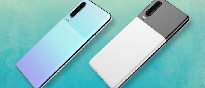 Dual tone designs for the Huawei P30 show up in patent applications