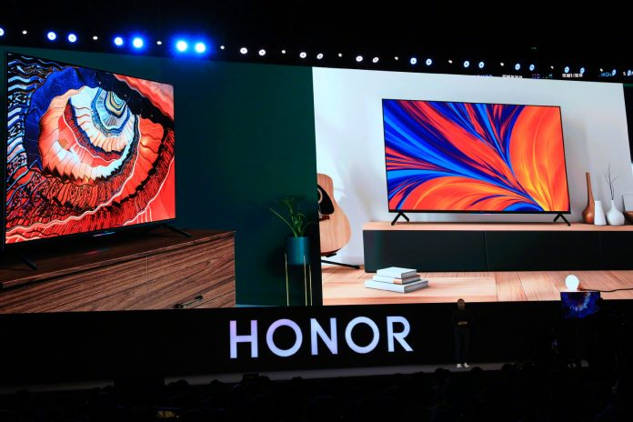 Huawei confirms Honor TV will be first device to run HarmonyOS
