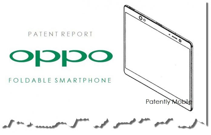 China's Smartphone Maker Oppo files for a Foldable Phone Patent in the U.S.