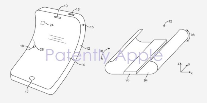 Apple continues their work on a Flexible / Foldable Device that began in 2011