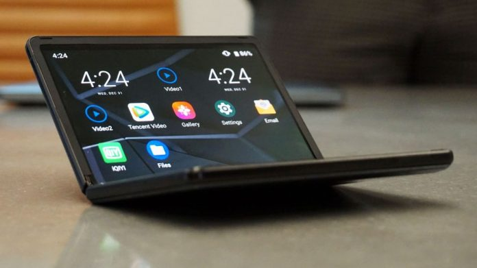Preview: TCL foldable phone concept