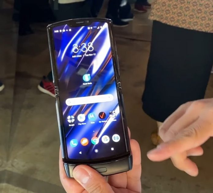 Motorola's upcoming foldable display RAZR has leaked just hours before the company is likely to announce it at an event in Los Angeles
