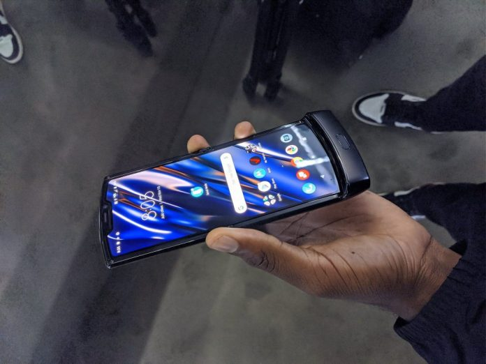 Motorola RAZR 2019 foldable phone