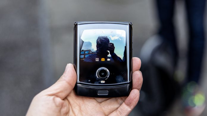 The Galaxy Z Flip has been touted to have a similar form factor to the Motorola RAZR.