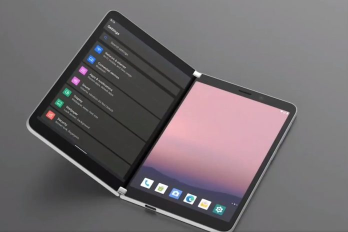 dual-screen Surface Duo Android shop