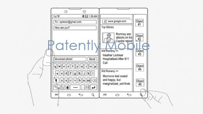 Samsung Invents an Ingenious Magnetic Hinge System for a Possible Dual Display Smartphone with a Special Feature
