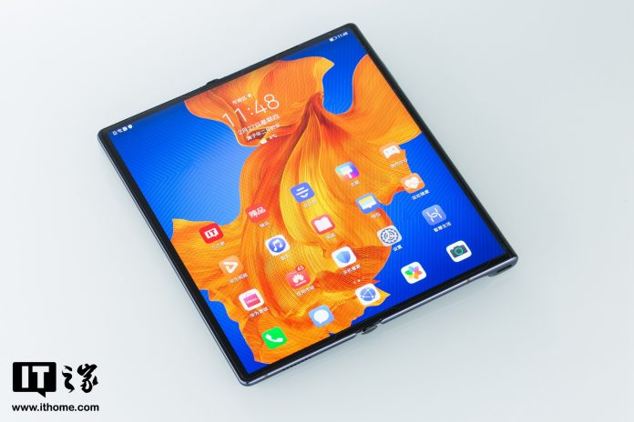 Huawei Mate Xs Display Unfolded
