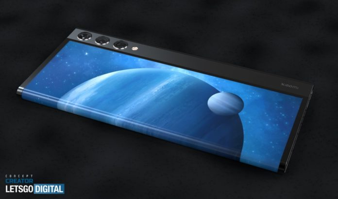 rollable smartphone xiaomi